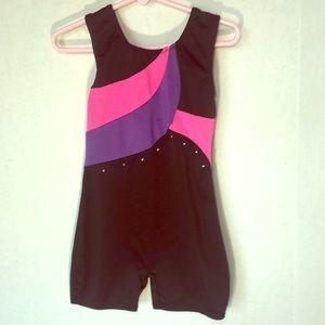 Danskin Freestyle Sleeveless Unitard, Size 6/6X